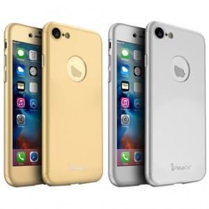 iPaky 360° | Комплект чехол + стекло для Apple iPhone 7 (полная защита корпуса и экрана)