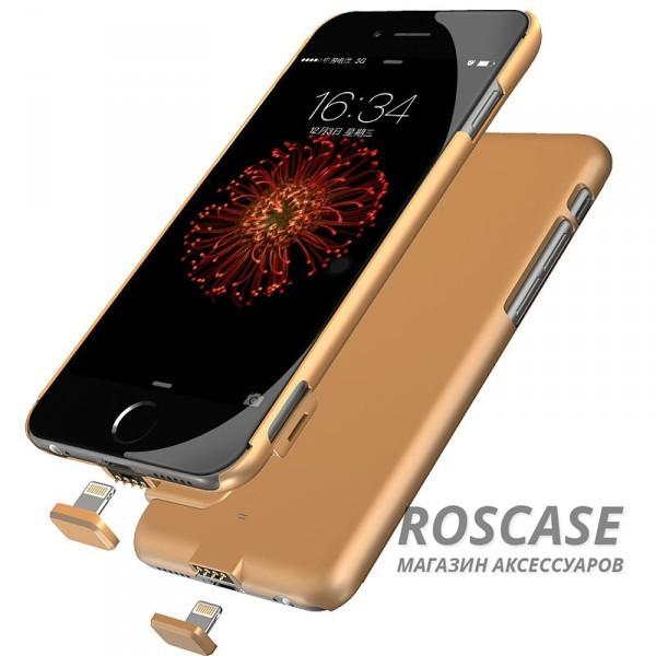 """Фото Тонкий чехол-аккумулятор для Apple iPhone 6/6s (4.7"""") с функцией беспроводной зарядки (1500mAh)"""