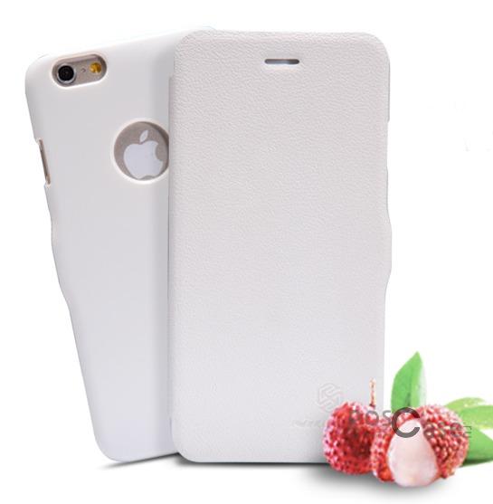Кожаный чехол (книжка) Nillkin Fresh Series для Apple iPhone 6/6s (4.7)  (Белый)Описание:Изготовлен компанией&amp;nbsp;Nillkin;Спроектирован персонально для Apple iPhone 6/6s (4.7);Материал: синтетическая высококачественная кожа и полиуретан;Форма: чехол в виде книжки.Особенности:Исключается появление царапин и возникновение потертостей;Восхитительная амортизация при любом ударе;Фактурная поверхность;Магнитная застежка;Не подвержен деформации;Непритязателен в уходе.<br><br>Тип: Чехол<br>Бренд: Nillkin<br>Материал: Искусственная кожа