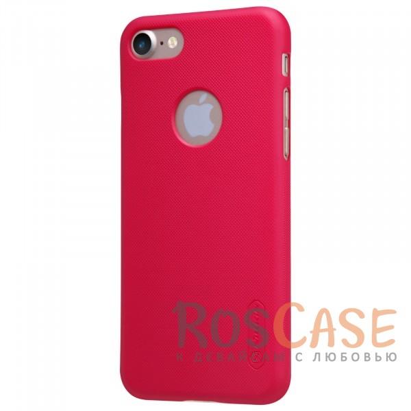 "Фото Красный Nillkin Super Frosted Shield | Матовый чехол для Apple iPhone 7 (4.7"") (+ пленка)"