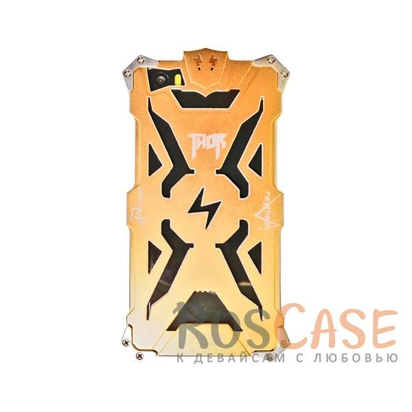 Противоударный чехол из авиационного алюминия на винтах Thor для Xiaomi MI5 / MI5 Pro (Золотой)<br><br>Тип: Чехол<br>Бренд: Epik<br>Материал: Металл