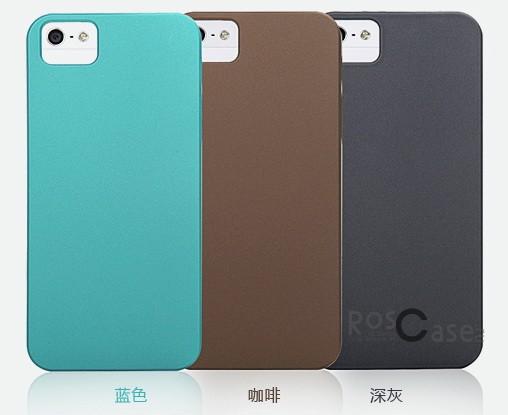 фото пластиковая накладка ROCK NakedShell series для Apple iPhone 5/5S/5SE