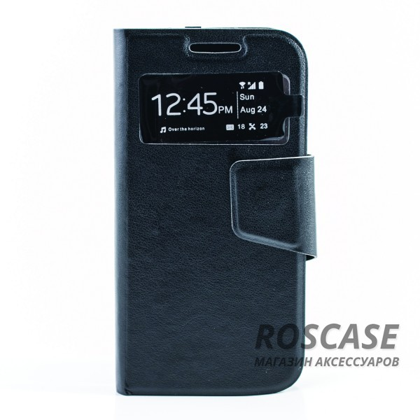 фото чехол (книжка) с TPU креплением для Samsung i9192/i9190/i9195 Galaxy S4 mini