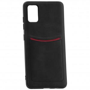 iLevel | Чехол с кожаным покрытием и карманом  для Samsung Galaxy S20 Plus