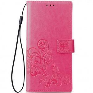 Чехол-книжка с узорами на магнитной застёжке для Xiaomi Mi 8