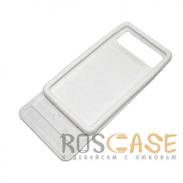 Изображение Мозайка-камуфляж  Jidanke   Универсальный чехол-накладка с силиконовым бампером для смартфонов диагональю 4,3-4,7 дюймов