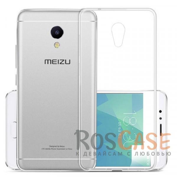 Ультратонкий силиконовый чехол Ultrathin 0,33mm для Meizu M5 (Бесцветный (прозрачный))Описание:бренд:&amp;nbsp;Epik;совместим с Meizu M5;материал: термополиуретан;тип: накладка.&amp;nbsp;Особенности:ультратонкий дизайн - 0,33 мм;прозрачный;эластичный и гибкий;надежно фиксируется;все функциональные вырезы в наличии.<br><br>Тип: Чехол<br>Бренд: Epik<br>Материал: TPU