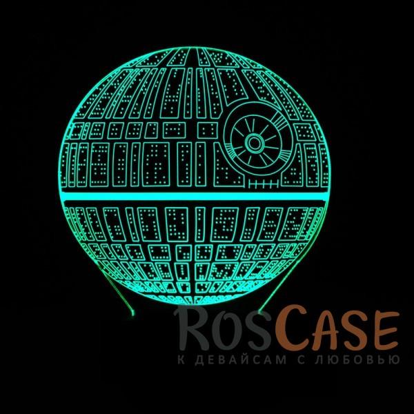 """Фотография Звёздные войны Светодиодный 3D светильник-ночник с проекцией объемного изображения """"Star Wars"""""""