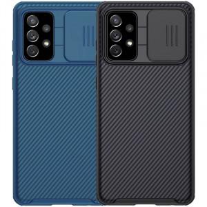Nillkin CamShield Pro | Чехол из пластика и TPU с защитой камеры для Samsung Galaxy A72