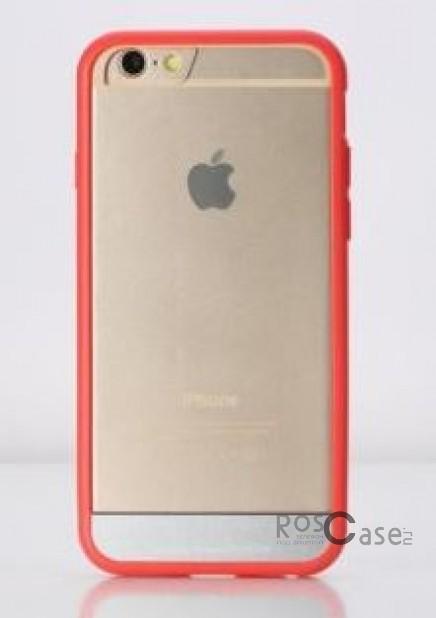 TPU+PC чехол Rock Enchanting Series для Apple iPhone 6/6s plus (5.5) (Красный / Red)Описание:компания-производитель  - &amp;nbsp;Rock;разработан специально для&amp;nbsp;Apple iPhone 6/6s plus (5.5);материалы  -  полиуретан, поликарбонат;тип  -  накладка.&amp;nbsp;Особенности:ультратонкий;поликарбонатная окантовка;все функциональные вырезы в наличии;легко очищается;не скользит в руках;защищает от ударов и царапин;не трескается.<br><br>Тип: Чехол<br>Бренд: ROCK<br>Материал: TPU
