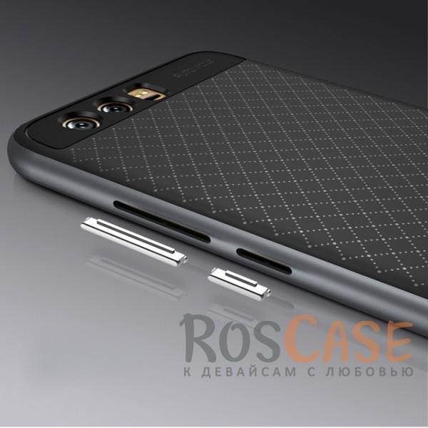 Изображение Черный / Серый iPaky Hybrid | Противоударный чехол для Huawei P10