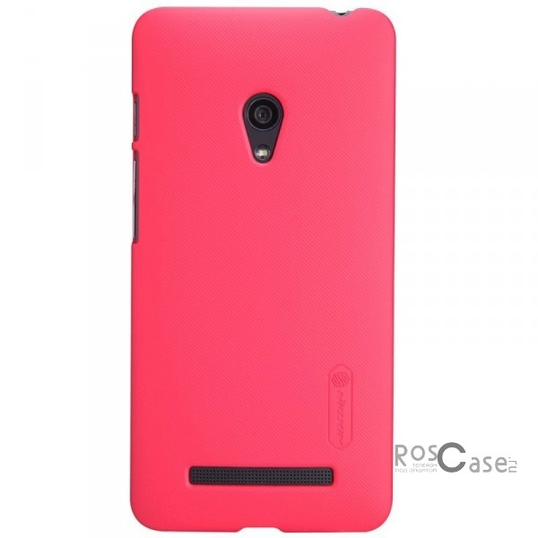 Чехол Nillkin Matte для Asus Zenfone 5 (A501CG) (+ пленка) (Розовый)Описание:Чехол изготовлен компанией&amp;nbsp;Nillkin;Спроектирован для модели смартфона&amp;nbsp;Asus Zenfone 5&amp;nbsp;(A501CG);При изготовлении использовался пластик;Форма  -  накладка.Особенности:Изысканный и стильный дизайн;Ультратонкая структура;Исключена возможность появления царапин и потертостей;Разнообразная цветовая палитра;В комплекте к накладке идет защитная пленка;Уникальный антикислотный поверхностный слой.<br><br>Тип: Чехол<br>Бренд: Nillkin<br>Материал: Поликарбонат