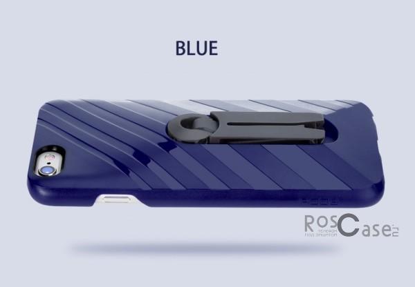 Фотография Синий / Navy Blue Rock Car Mount | Чехол для Apple iPhone 6/6s с функцией подставки + автодержатель