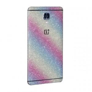 Виниловая наклейка на обе стороны Glitter series для OnePlus 3 / OnePlus