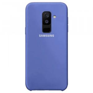 Силиконовый чехол для Samsung Galaxy A6 Plus (2018) с покрытием soft touch