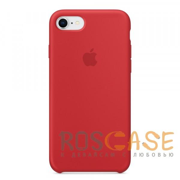 Фотография Красный Чехол Silicone Case для iPhone 7/8/SE (2020)