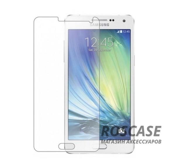Защитное стекло Ultra Tempered Glass 0.33mm (H+) для Samsung A500H / A500F Galaxy A5 (карт. уп-вка)Описание:совместимо с устройством Samsung A500H / A500F Galaxy A5;материал: закаленное стекло;тип: защитное стекло на экран.&amp;nbsp;Особенности:закругленные&amp;nbsp;грани стекла обеспечивают лучшую фиксацию на экране;стекло очень тонкое - 0,33 мм;отзыв сенсорных кнопок сохраняется;стекло не искажает картинку, так как абсолютно прозрачное;выдерживает удары и защищает от царапин;размеры и вырезы стекла соответствуют особенностям дисплея.<br><br>Тип: Защитное стекло<br>Бренд: Epik