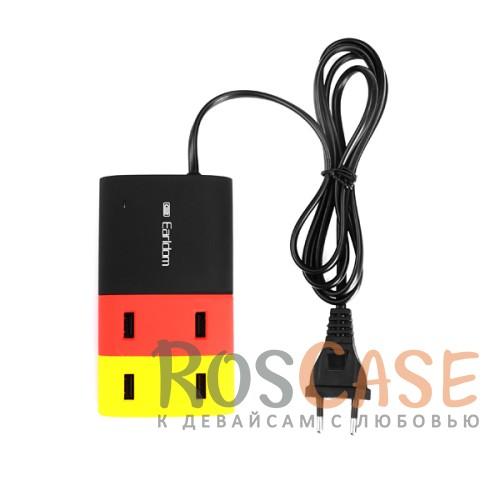 Сетевое ЗУ Earldom 4-USB 5V 2.1AОписание:производитель&amp;nbsp; -  Earldom;материал - пластик;тип&amp;nbsp; - &amp;nbsp;сетевое зарядное устройство;совместимость - универсальная.Особенности:размер: 120 x 70 x 25 мм;разъемы&amp;nbsp;USB - 4 шт.;выходное напряжение - 5V;ток на выходе - 6A;номинальная мощность - 21W.<br><br>Тип: Сетевое зарядное устройство<br>Бренд: Epik