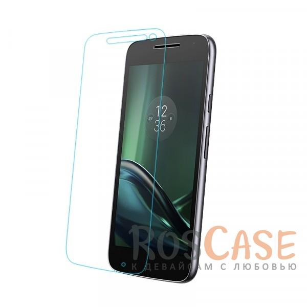 Ультратонкое стекло с закругленными краями для Motorola Moto G4 (картонная упаковка)Описание:совместимо с устройством Motorola Moto G4;материал: закаленное стекло;тип: защитное стекло на экран.&amp;nbsp;Особенности:закругленные&amp;nbsp;грани стекла обеспечивают лучшую фиксацию на экране;стекло очень тонкое - 0,33 мм;отзыв сенсорных кнопок сохраняется;стекло не искажает картинку, так как абсолютно прозрачное;выдерживает удары и защищает от царапин;размеры и вырезы стекла соответствуют особенностям дисплея.<br><br>Тип: Защитное стекло<br>Бренд: Epik