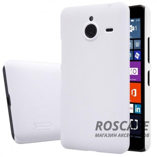 Чехол Nillkin Matte для Microsoft Lumia 640XL (+ пленка) (Белый)Описание:производитель - компания&amp;nbsp;Nillkin;материал - поликарбонат;совместим с Microsoft Lumia 640XL;тип - накладка.&amp;nbsp;Особенности:матовый;прочный;тонкий дизайн;не скользит в руках;не выцветает;пленка в комплекте.<br><br>Тип: Чехол<br>Бренд: Nillkin<br>Материал: Поликарбонат