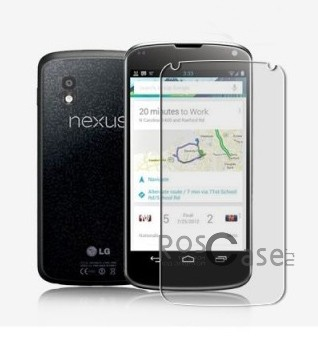 Матовая антибликовая защитная пленка на экран со свойством анти-шпион для LG E960 Nexus 4<br><br>Тип: Защитная пленка<br>Бренд: Nillkin