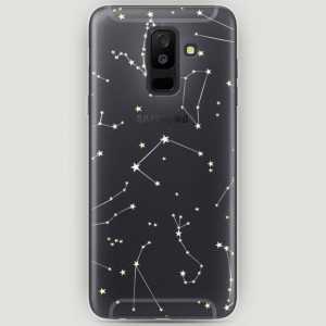 RosCase | Силиконовый чехол Созвездия на Samsung Galaxy A6 Plus (2018)