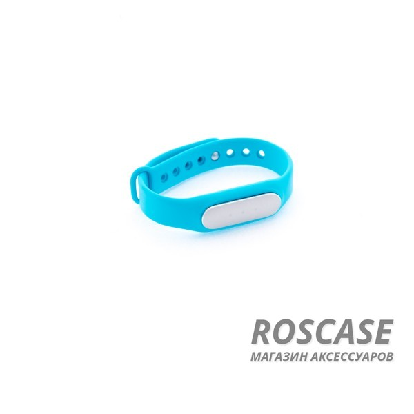 Ремешок для фитнес-браслета Xiaomi Mi Band (Голубой)Описание:бренд -&amp;nbsp;Epik;совместим с&amp;nbsp;фитнес-браслетом Xiaomi Mi Band;материал  -  силикон;тип  -  ремешок.&amp;nbsp;Особенности:не скользит на руке;регулируемая длина;подходит на запястья с разным диаметром;надежно крепится к девайсу;не боится влаги;разнообразная палитра цветов.<br><br>Тип: Общие аксессуары<br>Бренд: Epik