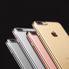 """Силиконовый чехол для Apple iPhone 8 Plus (5.5"""") с глянцевой окантовкой"""
