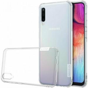 Nillkin Nature | Прозрачный силиконовый чехол  для Samsung Galaxy A50 (A505F)