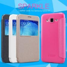 Nillkin Sparkle | Чехол-книжка для Samsung J700H Galaxy J7