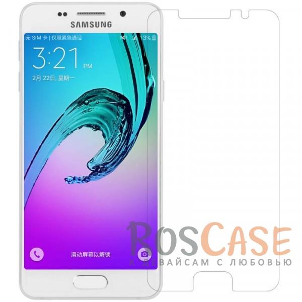 Матовая антибликовая защитная пленка на экран со свойством анти-шпион для Samsung A310F Galaxy A3 (2016)Описание:бренд:&amp;nbsp;Nillkin;совместима с Samsung A310F Galaxy A3 (2016);материал: полимер;тип: пленка на экран.&amp;nbsp;Особенности:функциональные вырезы;антибликовые свойства;не влияет на чувствительность сенсора;легко очищается;матовая.<br><br>Тип: Защитная пленка<br>Бренд: Nillkin