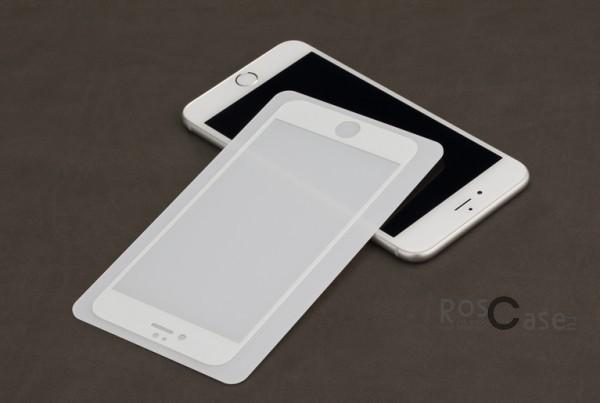 Защитное стекло ROCK Perfect Full Tempered (2.5D) 0.3 mm Glass для Apple iPhone 6/6s plus (5.5) (Белый / White)Описание:Производитель - компания&amp;nbsp;Rock;Совместимость: Apple iPhone 6/6s plus (5.5);Материал: закаленное стекло;Форма: защитное стекло.Особенности:Исключается появление царапин и возникновение потертостей;Гарантировано исключительное взаимодействие с сенсорной клавиатурой дисплея;Плотность - 9H;Толщина - 0,3 мм;Отсутствие отпечатков;Не подвержено деформации;Полностью закрывает экран.<br><br>Тип: Защитное стекло<br>Бренд: ROCK
