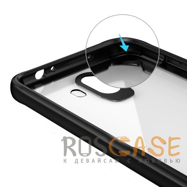 Изображение Черный iPaky Luckcool   Чехол для Samsung Galaxy S9 с цветными силиконовыми вставками