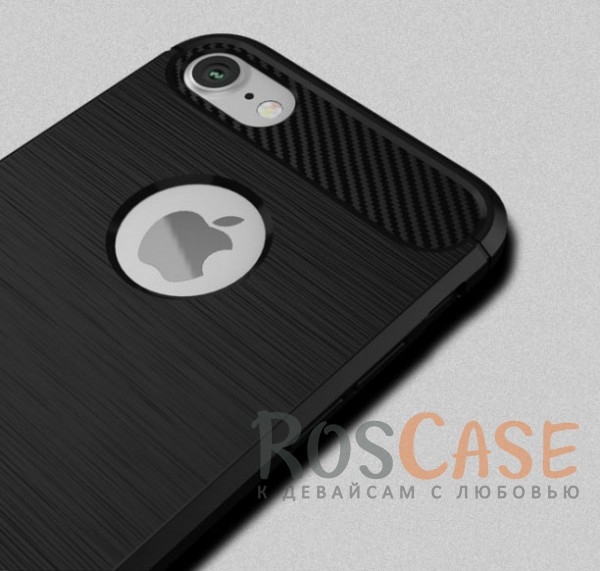 Стильный чехол с карбоновыми вставками iPaky (original) Slim для Apple iPhone 7 / 8 (4.7) (Черный)Описание:бренд - iPaky;совместим с Apple iPhone 7 / 8 (4.7);материал: термополиуретан;тип: накладка.Особенности:эластичный;свойство анти-отпечатки;защита углов от ударов;ультратонкий;защита боковых кнопок;надежная фиксация.<br><br>Тип: Чехол<br>Бренд: iPaky<br>Материал: TPU