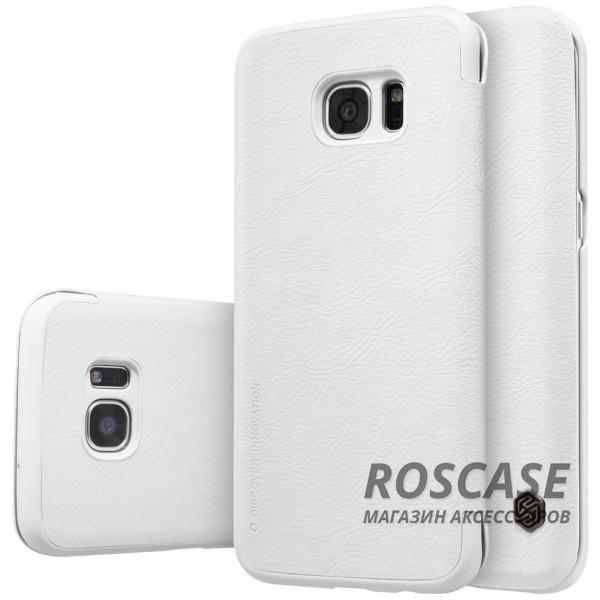 Кожаный чехол (книжка) Nillkin Qin Series для Samsung G935F Galaxy S7 Edge (Белый)Описание:фирма:&amp;nbsp;Nillkin;совместим с Samsung G935F Galaxy S7 Edge;изготовлен из натуральной кожи;форма чехла: книжка.Особенности:высокая износостойкость;амортизация при ударах;простое применение и уход;уникальный стиль.<br><br>Тип: Чехол<br>Бренд: Nillkin<br>Материал: Натуральная кожа