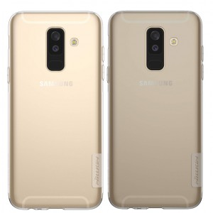 Nillkin Nature | Прозрачный силиконовый чехол для Samsung Galaxy A6 Plus (2018)