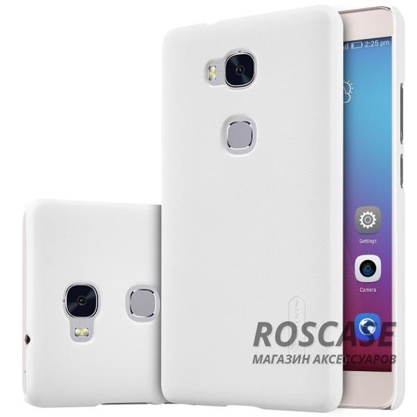 Чехол Nillkin Matte для Huawei Honor 5X / GR5 (+ пленка) (Белый)Описание:производитель - компания&amp;nbsp;Nillkin;материал - поликарбонат;совместим с Huawei Honor X5 / GR5;тип - накладка.&amp;nbsp;Особенности:матовый;прочный;тонкий дизайн;не скользит в руках;не выцветает;пленка в комплекте.<br><br>Тип: Чехол<br>Бренд: Nillkin<br>Материал: Пластик