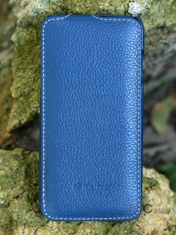 Кожаный чехол Melkco (JT) для Apple iPhone 6/6s (4.7) (Синий)Описание:компания-производитель: Melkco;совместим с Apple iPhone 6/6s (4.7);используемые материалы: микрофибра, натуральная кожа, поликарбонат;форма чехла: флип вниз.&amp;nbsp;Особенности:полный набор функциональных прорезей;строчный шов по периметру;элегантный дизайн;фактурная поверхность;уникальный механизм закрытия - Jacka Type.<br><br>Тип: Чехол<br>Бренд: Melkco<br>Материал: Натуральная кожа
