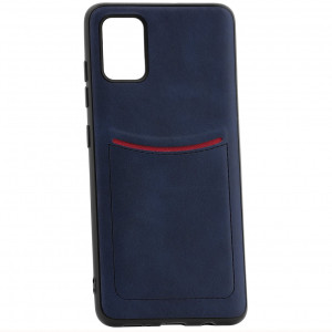 ILEVEL | Чехол с кожаным покрытием и карманом  для Samsung Galaxy A31