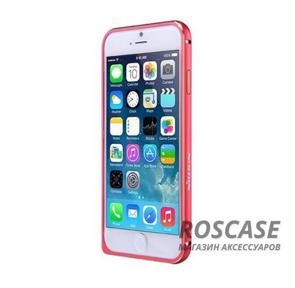 Металлический бампер Nillkin Gothic Series для Apple iPhone 6/6s (4.7) (Красный)Описание:производитель  -  бренд Nillkin;совместимость: Apple iPhone 6/6s (4.7);материал  -  металл;форма  -  бампер.&amp;nbsp;Особенности:легкий и прочный;имеет все функциональные вырезы;обладает хорошей амортизацией;не увеличивает габариты;стильныйгладкий.<br><br>Тип: Бампер<br>Бренд: Nillkin