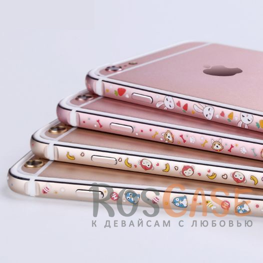 Металлический бампер Lofter Cutie Series для Apple iPhone 7 (4.7)<br><br>Тип: Бампер<br>Бренд: Epik