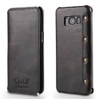 Кожаный чехол-книжка для Samsung G950 Galaxy S8 с внутренним карманом