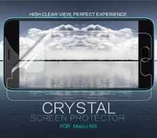 Nillkin Crystal | Прозрачная защитная пленка для Meizu M3 / M3 mini / M3s