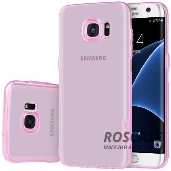 TPU чехол Nillkin Nature Series для Samsung G935F Galaxy S7 Edge (Розовый (прозрачный))Описание:производитель  -  бренд&amp;nbsp;Nillkin;совместим с Samsung G935F Galaxy S7 Edge;материал  -  термополиуретан;тип  -  накладка.&amp;nbsp;Особенности:в наличии все вырезы;не скользит в руках;тонкий дизайн;защита от ударов и царапин;прозрачный.<br><br>Тип: Чехол<br>Бренд: Nillkin<br>Материал: TPU