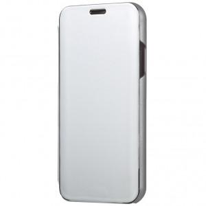 Чехол-книжка RosCase с дизайном Clear View для Samsung Galaxy S10e