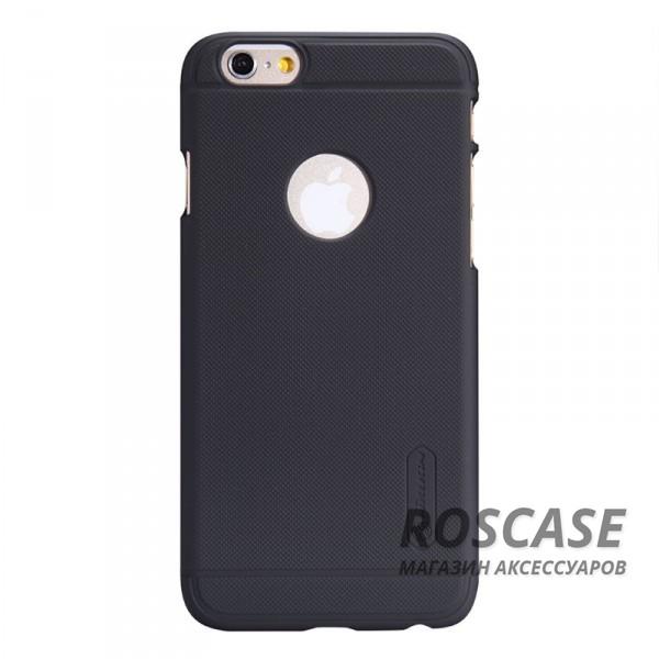 Матовый чехол для Apple iPhone 6/6s (4.7) (+ пленка) (Черный)Описание:производитель  -  фирма Nillkin;разработан специально для Apple iPhone 6/6s (4.7);материал  -  пластик;форма  -  накладка.&amp;nbsp;Особенности:матовая ребристая поверхность;имеет все функциональные вырезы;легко чистится;тонкий дизайн не увеличивает габариты;защищает от механических воздействий;пленка в комплекте;не скользит в руках.<br><br>Тип: Чехол<br>Бренд: Nillkin<br>Материал: Поликарбонат