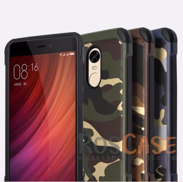 TPU чехол Military для Xiaomi Redmi Note 4Описание:разработан специально для Xiaomi Redmi Note 4;комуфляжная расцветка;материал - TPU;тип - накладка.<br><br>Тип: Чехол<br>Бренд: Epik<br>Материал: TPU