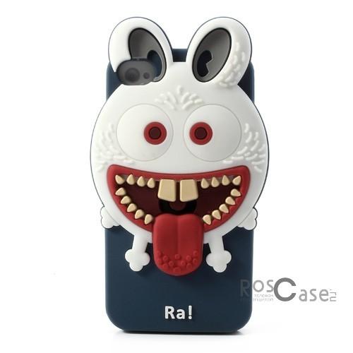 """фото силиконовый чехол """"Монстр RA"""" для Apple iPhone 4/4S"""
