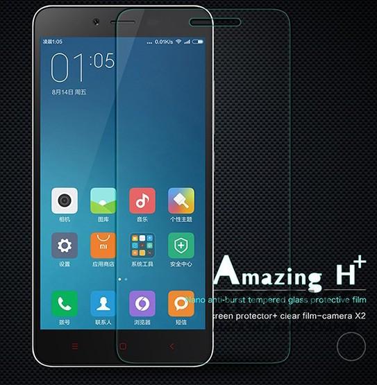 Защитное стекло Nillkin Anti-Explosion (H+) (з. края) для Xiaomi Redmi Note 2 / Redmi Note 2 PrimeОписание:компания&amp;nbsp;Nillkin;создано для Xiaomi Redmi Note 2 / Redmi Note 2 Prime;материал: закаленное стекло;тип: стекло с закругленными краями.&amp;nbsp;Особенности:повторяет форму экрана;тонкое и прозрачное;покрытие анти-блик;закругленные края;твердость - 9H;толщина - &amp;nbsp;0,3 мм;защита от ударов и царапин;олеофобное покрытие;в комплекте пленка на камеру.<br><br>Тип: Защитное стекло<br>Бренд: Nillkin