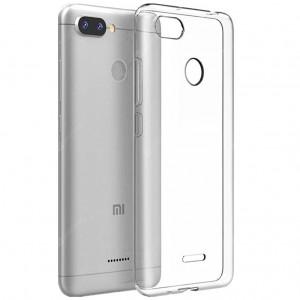 Clear Original | Прозрачный TPU чехол 2мм для Xiaomi Redmi 6